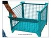 WIRE MESH BULK STEEL CONTAINERS WITH DROP GATE